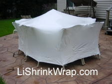 Patio Furniture Shrink Wrap Weather Protection Cover